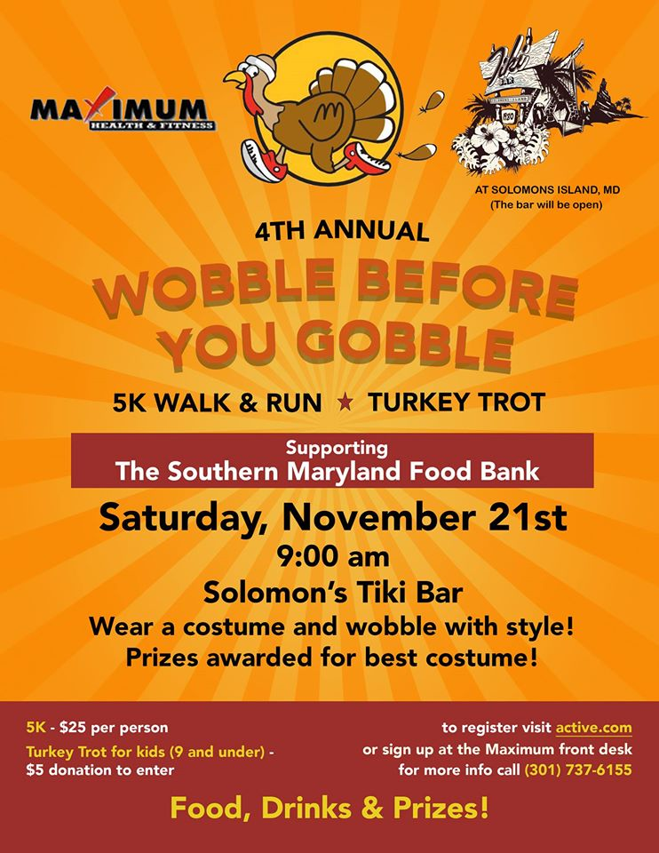 Tiki 5k Run Wobble before Gobble